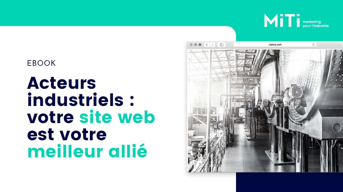 site web PME industrielle